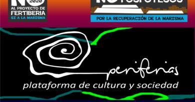 Periferias se suma a la concentración contra las balsas de fosfoyesos de Huelva